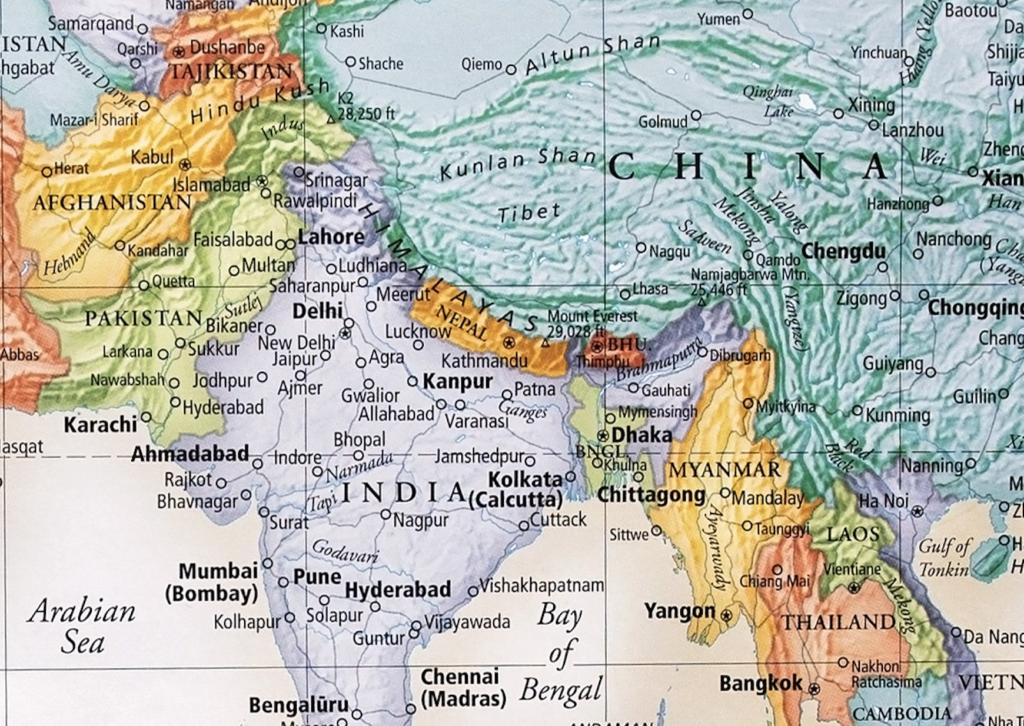 The Geostrategic Aspect of China-India Riddle