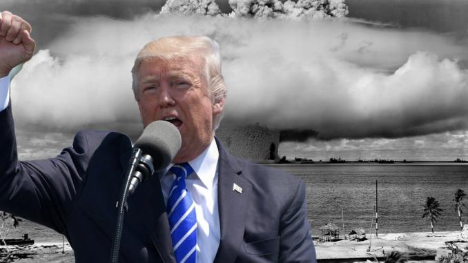 Trump's Brinkmanship on Nuclear Testing