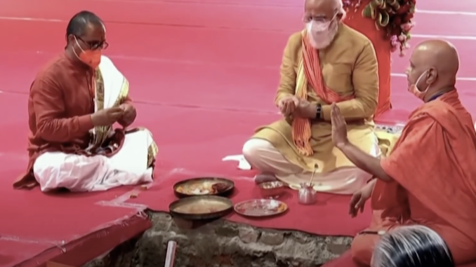Parasitic Hinduvta Ideology, Tearing Secular India Apart